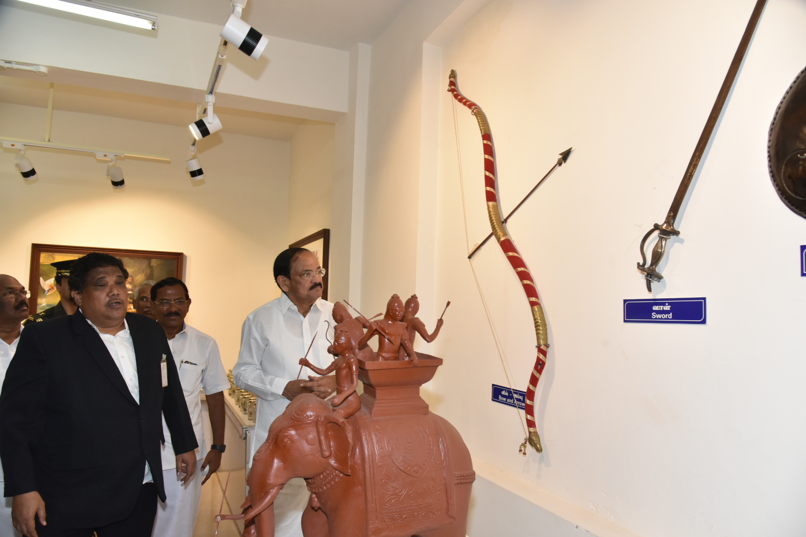 The Vice President, Shri M. Venkaiah Naidu visiting the International Institute of Tamil Studies, in Chennai, on 19 January, 2020.