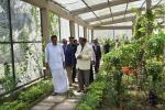 The Vice President, Shri M. Venkaiah Naidu going around the walk-in butterfly conservatory at the Nature Park and Interpretation Centre in Haddo, Port Blair, Andaman and Nicobar on January 17, 2020.