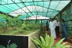 The Vice President, Shri M. Venkaiah Naidu visiting the orchid and fern house at the Nature Park and Interpretation Centre in Haddo, Port Blair, Andaman and Nicobar on January 17, 2020.