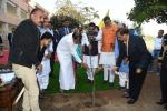 The Vice President, Shri M Venkaiah Naidu planting a Rudraksh sapling in the campus of the Indian Institute of Information Technology, Design and Manufacturing (IIITDM), Jabalpur, on 15 February, 2020.