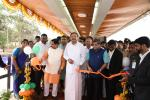The Vice President inaugurating the Hubbali-Dharwad Bus Rapid Transit (BRT) project, in Hubbali, Karnataka, on 02 February, 2020.