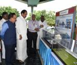 The Vice President, Shri M. Venkaiah Naidu visiting the National Institute of Ocean Technology (NIOT) exhibits showcasing the cutting edge and socially relevant technologies developed by NIOT, in Chennai on November 03, 2019. The Union Minister for Health & Family Welfare, Science & Technology and Earth Sciences, Dr. Harsh Vardhan is also seen.