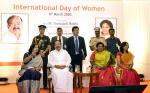 The Vice President, Shri M. Venkiah Naidu at the inaugural of iWIN (International Women Network) – a portal conceived by Foundation of Futuristic Cities, in Hyderabad, on 08 March, 2020.