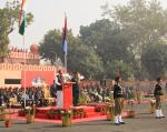 The Vice President of India, Shri M. Venkaiah Naidu addressing the Cadets during the inauguration of the NCC Republic Day Camp 2018 in New Delhi on January 06, 2018.