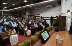 "The Vice President, Shri M. Venkaiah Naidu delivering the inaugural address at the 15th International Conference on ""Metal Ions & Organic Pollutants in Biology, Medicine and Environment (Metal Ions 2019)""at CSIR-NEERI in Nagpur on October 30, 2019."