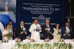 The Vice President, Shri. M. Venkaiah Naidu, releasing the book 'Parameswara to PP', in New Delhi, on September 27, 2019.