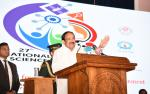The Vice President, Shri M. Venkaiah Naidu addressing the gathering at the 27th National Children's Science Congress in Trivandrum, Kerala, on December 30, 2019.