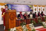 The Vice President, Shri M. Venkaiah Naidu addressing the gathering at the 28th Annual Convocation of Pondicherry University in Puducherry on February 26, 2020.