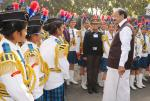 The Vice President of India, Shri M. Venkaiah Naidu interacting with the Cadets during the inauguration of the NCC Republic Day Camp 2018 in New Delhi on January 06, 2018.