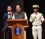 The Vice President, Shri M Venkaiah Naidu speaking at the condolence meeting of late Shri P S Krishnan in New Delhi on 23 November, 2019.