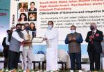 The Vice President, Shri M. Venkaiah Naidu, presenting various awards at the 80th Foundation Day celebrations of Council of Scientific and Industrial Research (CSIR) in New Delhi on September 26, 2021.