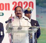 The Vice President, Shri M. Venkaiah Naidu addressing the gathering at the Kalam's Convention -2020 in Hyderabad, on January 28, 2020.