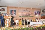 "The Vice President, Shri M Venkaiah Naidu addressing the Valedictory Session of ""Workshop on Development of Centre of Excellence for Studies in Classical Telugu"", at Swarna Bharat Trust,  in Nellore on 21 January, 2019."