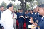 The Vice President, Shri M. Venkaiah Naidu interacting with the volunteers of National Service Scheme (NSS) who participated in the Republic Day Parade this year, at Upa-Rashtrapati Bhawan, in New Delhi, on 30 January, 2020.