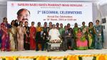 The Vice President, Shri M. Venkaiah Naidu with the Faculty Members of Sarojini Naidu Vanita Pharmacy Maha Vidyalaya, at the 2nd decennial celebrations, in Hyderabad on March 16, 2019.