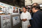The Vice President, Shri M. Venkaiah Naidu going through an Exhibition organized by the Indian Institute of Mass Communication, in New Delhi on March 20, 2019.