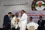 The Vice President, Shri M. Venkaiah Naidu felicitating Shri T. Sanjeeva Rao who compiled the book 'Kandukuri Smritilahari' (death centenary edition), at the valedictory event of death centenary of Shri Kandukuri Veeresalingam, organized by Andhra University & Mosaic Sahitya Samsta, in Visakhapatnam, Andhra Pradesh on June 01, 2019.