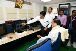 The Vice President, Shri M. Venkaiah Naidu visiting the High Performance Computation Facility and Data Center at the National Atmospheric Research Laboratory, in Tirupati, Andhra Pradesh on June 03, 2019.