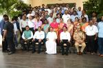 The Vice President, Shri M. Venkaiah Naidu with the Scientists of the National Atmospheric Research Laboratory, in Tirupati, Andhra Pradesh on June 03, 2019.