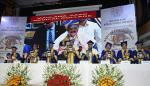 The Vice President, Shri M. Venkaiah Naidu releasing the College Annual Report at the 60th Annual Day Celebrations of the Maulana Azad Medical College, in New Delhi on February 27, 2019.
