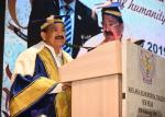 The Vice President, Shri M. Venkaiah Naidu addressing the gathering at the 60th Annual Day Celebrations of the Maulana Azad Medical College, in New Delhi on February 27, 2019.
