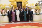 The Vice President, Shri M. Venkaiah Naidu and the Prime Minister of Vietnam, Mr. Nguyen Xuan Phuc with the delegates from both sides, at the Prime Minister's Office, in Hanoi, Vietnam on May 11, 2019.