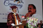 The Vice President, Shri M. Venkaiah Naidu addressing the gathering at the First Graduation Day function of Malla Reddy Institute of Medical Sciences & Malla Reddy Institute of Dental Sciences. in Hyderabad, Telangana on April 21, 2018.