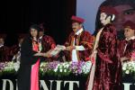 The Vice President, Shri M. Venkaiah Naidu presenting degrees to the Students at the First Graduation Day function of Malla Reddy Institute of Medical Sciences & Malla Reddy Institute of Dental Sciences. in Hyderabad, Telangana on April 21, 2018.