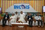 The Vice President, Shri M. Venkaiah Naidu at an event to interact with the Scientists of the Indian National Centre for Ocean Information Services (INCOIS) and the National Tsunami Warning Centre, in Hyderabad on July 13, 2018. The Deputy Chief Minister of Telangana, Shri Mohammad Mahmood Ali and other dignitaries are also seen.