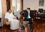 The Vice President, Shri M. Venkaiah Naidu meeting the President of Costa Rica, Mr. Carlos Alvarado Quesada, at the Casa Presidential, in San Jose, Costa Rica on March 08, 2019.