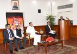The Vice President, Shri M. Venkaiah Naidu at an event to interact with the Officer Trainees of 2018 Batch of Indian Foreign Service (IFS) and Bhutanese Diplomats, in New Delhi on May 28, 2019.