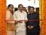 The Vice President, Shri M. Venkaiah Naidu inaugurating a Photo Exhibition on 'New India – Resolve to Make' organized by Ministry of Parliamentary Affairs and DAVP, Ministry of Information and Broadcasting to mark 75 years of the Quit India movement, in Chennai on August 27, 2017. The Acting Governor of Tamil Nadu, Shri Ch. Vidyasagar Rao, the Union Minister for Chemicals & Fertilizers and Parliamentary Affairs, Shri Ananth Kumar and other dignitaries are also seen.