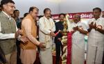 The Vice President, Shri M. Venkaiah Naidu lighting the lamp at the inauguration of a Photo Exhibition on 'New India – Resolve to Make' organized by Ministry of Parliamentary Affairs and DAVP, Ministry of Information and Broadcasting to mark 75 years of the Quit India movement, in Chennai on August 27, 2017. The Acting Governor of Tamil Nadu, Shri Ch. Vidyasagar Rao, the Union Minister for Chemicals & Fertilizers and Parliamentary Affairs, Shri Ananth Kumar and other dignitaries are also seen.