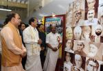 The Vice President, Shri M. Venkaiah Naidu looking at a Photo Exhibition on 'New India – Resolve to Make' organized by Ministry of Parliamentary Affairs and DAVP, Ministry of Information and Broadcasting to mark 75 years of the Quit India movement, in Chennai on August 27, 2017. The Acting Governor of Tamil Nadu, Shri Ch. Vidyasagar Rao, the Union Minister for Chemicals & Fertilizers and Parliamentary Affairs, Shri Ananth Kumar and other dignitaries are also seen