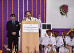 The Vice President, Shri M. Venkaiah Naidu addressing the 13th Annual Convocation of Pravara Institute of Medical Sciences, in Loni, Maharashtra on March 25, 2019.