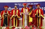 The Vice President, Shri M. Venkaiah Naidu presenting degrees to the Students at the Convocation of Vaikunth Mehta National Institute for Cooperative Management, in Pune, Maharashtra on March 25, 2019. The Governor of Maharashtra, Shri C. Vidyasagar Rao and other dignitaries are also seen.