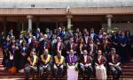 The Vice President, Shri M. Venkaiah Naidu with the Faculty Members of the Indira Gandhi Institute of Development Research, on the occasion of 16th Convocation, in Mumbai on March 26, 2019.