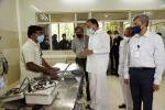 The Vice President, Shri M. Venkaiah Naidu, visiting the Assisted Reproduction facility at CCMB LaCONES in Hyderabad on 2 July 2021.