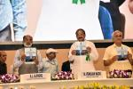 The Vice President, Shri M. Venkaiah Naidu releasing various publications at the 164th Central Public Works Department Day celebrations, in New Delhi on July 12, 2018. The Minister of State for Tourism (I/C), Shri Alphons Kannanthanam and other dignitaries are also seen.