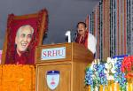 The Vice President, Shri M. Venkaiah Naidu delivering the 2nd Convocational address of Swami Rama Himalayan University, in Dehradun, Uttarakhand on December 05, 2017.