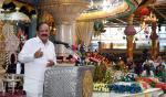The Vice President, Shri M. Venkaiah Naidu addressing the gathering at the 92nd Birthday Celebrations of Sri Satya Sai Baba, in Puttararthi, Andhra Pradesh on November 22, 2017.