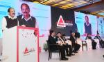 The Vice President, Shri M. Venkiaha Naidu addressing the gathering after inaugurating the 10th Auto Summit, organized by the Federation of Automobile Dealers Association, in New Delhi on February 09, 2018.