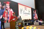 The Vice President, Shri M. Venkaiah Naidu addressing the Eighth Convocation of Gandhi Institute of Technology and Management (GITAM), in Hyderabad on November 18, 2017.