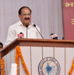 The Vice President, Shri M. Venkaiah Naidu addressing the 63rd Annual General Meeting of the Indian Institute of Public Administration, in New Delhi on October 11, 2017.