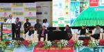 The Vice President, Shri M. Venkaiah Naidu addressing the gathering at the 9th 'Agrovision' Workshops, National Expo & Conference, in Nagpur, Maharashtra on November 10, 2017. The Union Minister for Road Transport & Highways, Shipping and Water Resources, River Development & Ganga Rejuvenation, Shri Nitin Gadkari and the Chief Minister of Maharashtra, Shri Devendra Fadnavis are also seen.