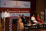 The Vice President, Shri M. Venkaiah Naidu addressing the gathering after inaugurating the 92nd Foundation Course for AIS & CCS Officers, in Hyderabad on September 04, 2017. The Deputy Chief Minister of Telangana, Shri Mohammad Mahmood Ali and other dignitaries are also seen.