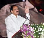The Vice President, Shri M. Venkaiah Naidu addressing the gathering at an event to mark the occasion of International Literacy Day, in Ranchi, Jharkahand on September 08, 2017.