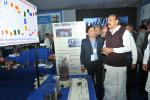 The Vice President, Shri M. Venkaiah Naidu going around the Steel Exhibition, on the occasion of Diamond Jubilee Celebrations of NMDC Ltd., in Hyderabad on December 08, 2017. The Minister of State for Steel, Shri Vishnu Deo Sai and other dignitaries are also seen.