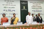 The Vice President, Shri M. Venkaiah Naidu at the Valedictory of Golden Jubilee celebrations of the Press Council of India, on the occasion of the National Press Day, in New Delhi on November 16, 2017. The Union Minister for Textiles and Information & Broadcasting, Smt. Smriti Irani and other dignitaries are also seen.