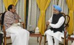 The former Prime Minister, Dr. Manmohan Singh calling on the Vice President, Shri M. Venkaiah Naidu, in New Delhi on December 14, 2017.